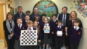 Visit from International Chess Master